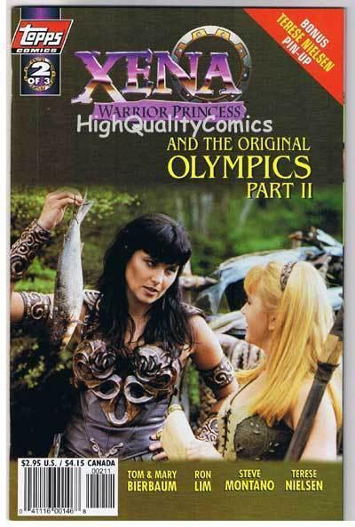 XENA WARRIOR PRINCESS OLYMPICS #2, NM+,  Lawless,1998, more in store