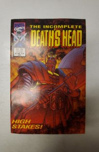 The Incomplete Death's Head (UK) #4 (1993) NM Marvel Comic Book J720