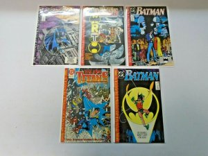 Batman: A Lonely Place of Dying 5 Different Average 8.0 VF (1989)