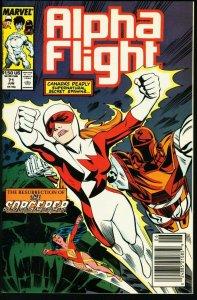ALPHA FLIGHT #71-MARVEL COMICS-MUTANTS!-JIM LEE NM