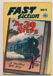 Fast Fiction (1949 Seaboard) #4 FN+ The 39 Steps