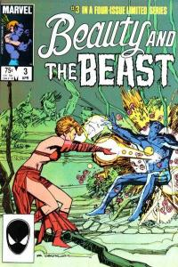 Beauty and the Beast (1985 series) #3, VF (Stock photo)