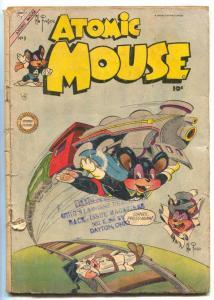 Atomic Mouse #9 1954-Charlton Funny Animal comic F/G