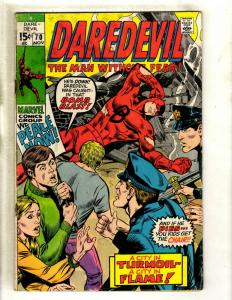 Daredevil # 70 GD Marvel Comic Book Karen Foggy Hell's Kitchen Defenders HY1