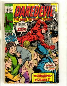 Daredevil # 70 GD Marvel Comic Book Karen Foggy Hell's Kitchen Defenders HY1