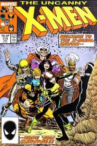 Uncanny X-Men (1981 series) #219, VF+ (Stock photo)