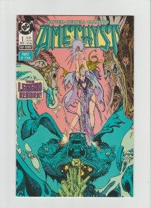 Amethyst #1 NM 9.4 (1987, DC Comics) Art and Cover by Esteban Maroto!