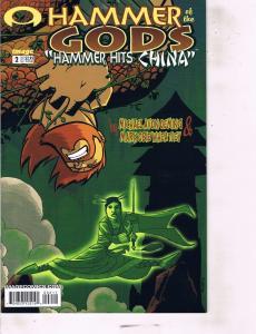 Lot Of 2 Image Comic Book Hammer of the God #2 and Soul Saga #1 AB7