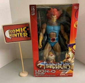 Thundercats 14 Mega-Scale Action Figure: Lion-O & Snarf