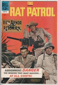 Rat Patrol #3 (May-67) VF/NM High-Grade Rat Patrol
