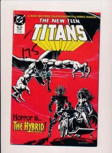 DC The NEW TEEN TITANS #24 1986  NEAR MINT (SRU676)