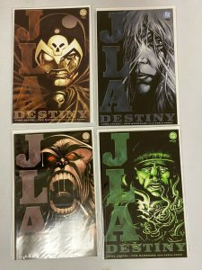 JLA Destiny set from:#1-4 DC 4 different books 8.0 VF (2002)
