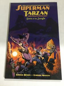 Superman Tarzan Sons Of The Jungle Nm Near Mint DC Comics SC TPb