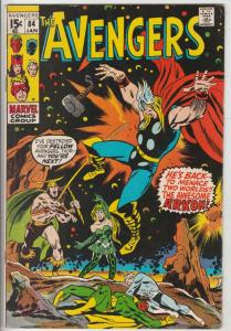 Avengers, The #84 (Jan-71) FN+ Mid-High-Grade Avengers