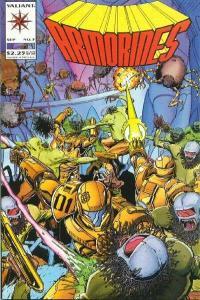 Armorines (1994 series) #3, NM (Stock photo)