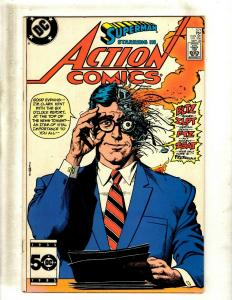 12 Comics Action Comics 571 586 655 656 686 724 725 Annual 4 5 Origin 3 6 7 J344