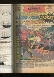JUSTICE LEAGUE OF AMERICA  #50  (1967)  5.0  (VG/F) OW/W PAGES
