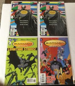 Batman Incorporated 1 2x And Special 1 And Leviathan 1 All Nm Near Mint