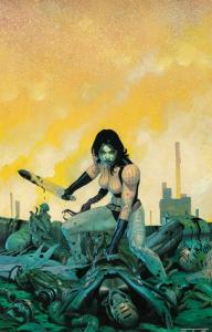 Gamora Poster by Esad Ribic (24 x 36) Rolled/New!