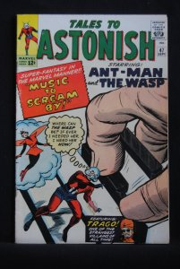 Tales to Astonish #47, Kirby Cover