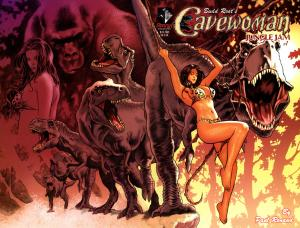 Cavewoman Jungle Jam # 1 Bud Root NM 2006 Wrap Cover
