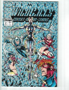 WildC.A.T.s #2 VF/NM signed by Jim Lee - Image comics 1st appearance of Wetworks