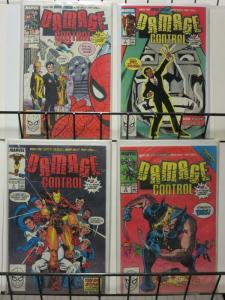 DAMAGE CONTROL (1989) 1-4 Complete 1st series! McDuffie