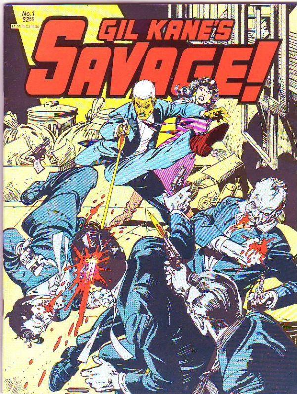 Gil Kane Savage #1 (Mar-82) NM- High-Grade Savage / HipComic