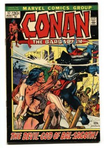 CONAN THE BARBARIAN #17 1972-MARVEL COMIC BOOK VF