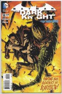 Batman: The Dark Knight (vol. 3, 2011) #14 VF (New 52) Hurwitz/Finch, Scarecrow