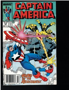 Captain America #343 (Marvel, 1988)