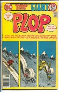 Plop! #23 1976-DC-satire-parody-humor-Wally Wood-Basil Wolverton-VG