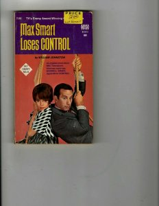 3 Books Max Smart Loses Control Tasker Martin The Smell of Trouble Mystery JK33