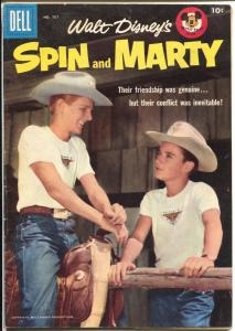 Spin and Marty-Four Color Comics #797-1957-Dell-Mickey Mouse Club-VG/FN
