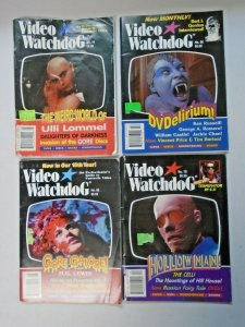 Video Watchdog Horror Lot 12 Different Average 6.0 FN (1992-2001)