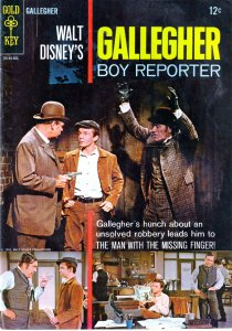 Walt Disney's Gallagher Boy Reporter