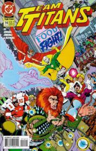 TEAM TITANS (1992) 2-14 WOLFMAN ON TITANS!!!