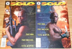 Solo #1-2 VF/NM complete series MARIO VAN PEEBLES photo covers dark horse 1996