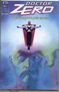 DOCTOR ZERO #3, VF/NM, Chichester, Epic, 1988, more in store