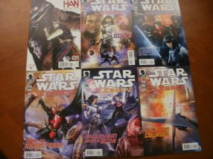 6 Mint STAR WARS Comic: Marvel HAN SOLO #1 & LEGACY #1 2 3 4 5 (Complete) Ania