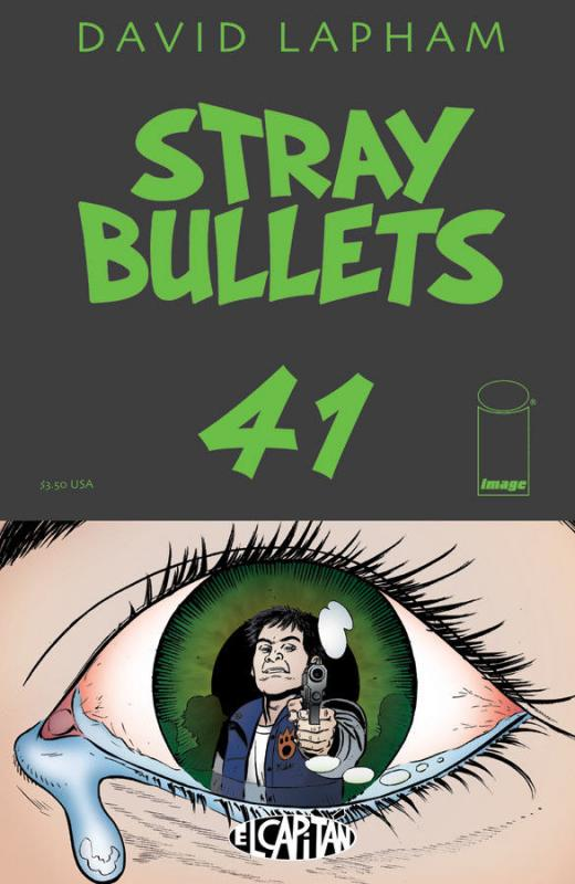 Stray Bullets #41 VF/NM; El Capitan | save on shipping - details inside