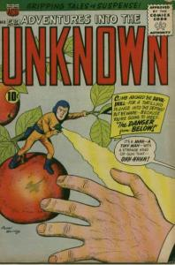 Adventures into the Unknown (1948 series) #120, Fine- (Stock photo)