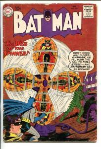 BATMAN #129 1960-DC-BATWOMAN-ROBOT-good/vg