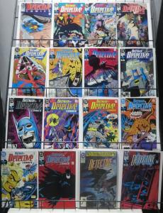 DETECTIVE COMICS 1990-2000 decade near complete! #579-736!117 diff BATMAN!