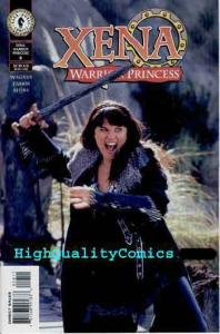 XENA Warrior Princess #8, NM+, Photo cv, Lucy Lawless, 2000, Duel of Chariots