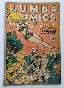Jumbo Comics #115 (Sept 1948, Fiction House) Good 2.0 Jack Kamen  Matt Baker art