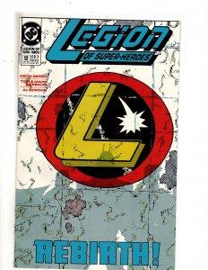 Legion of Super-Heroes #12 (1990) SR16