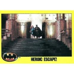 1989 Batman The Movie Series 2 Topps HEROIC ESCAPE! #229