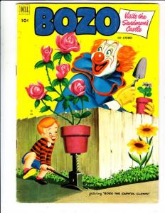 Bozo #6 (Sep-52) FN Mid-Grade Bozo the Clown