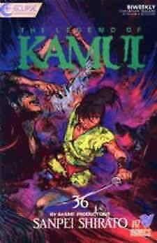 Legend of Kamui, The #36 VF/NM; Eclipse | save on shipping - details inside